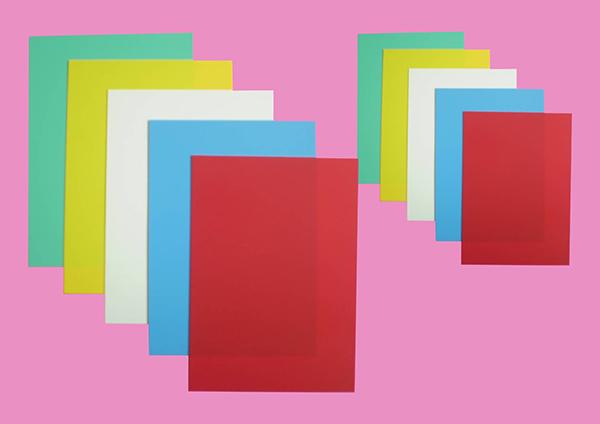 PVC podložka barevná